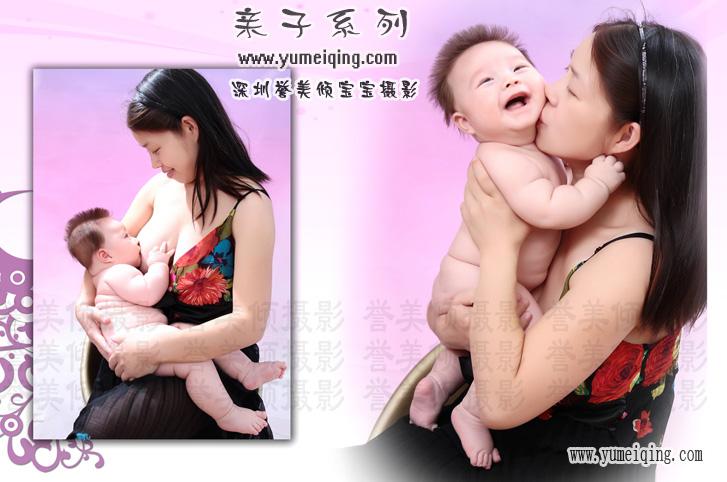 宝宝萌照,可爱宝宝照片,宝宝亲子照